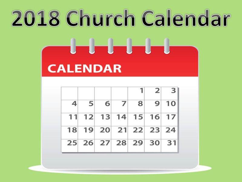 2018 Calendarnew